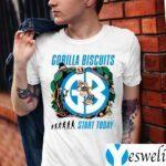 gorilla biscuits start today shirt