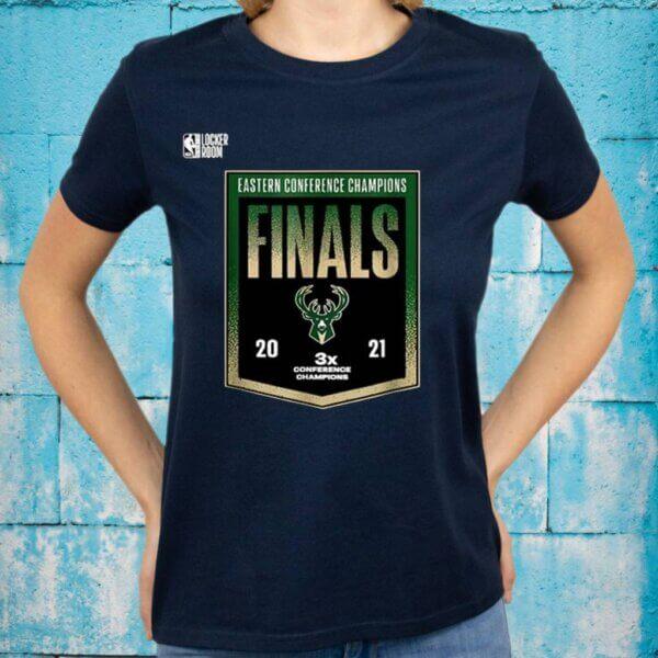 Bucks Milwaukee Finals 2021 T-Shirts