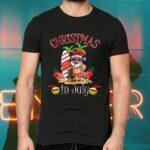 Christmas In July T Shirt Funny Santa Summer Beach Vacation T-Shirts