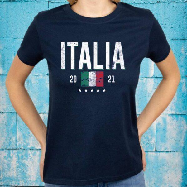 Italy Jersey Soccer 2021 Italian Flag Football Vintage Shirt
