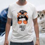 Phoenix Basketball Valley -Oop messy bun sun basketball fan Shirts