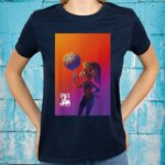 Space Jam A New Legacy Lola With Basketball Poster Shirt