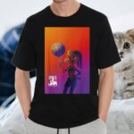 Space Jam A New Legacy Lola With Basketball Poster Shirts