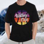 The Valley Oop Phoenix Basketball Retro Sunset Basketball Shirts