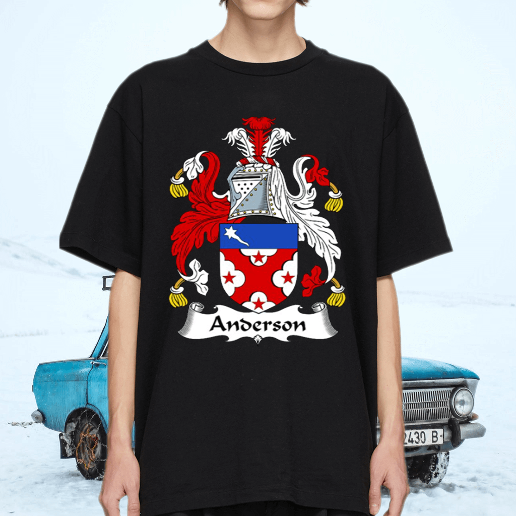 Anderson Coat Of Arms Family Crest Shirt