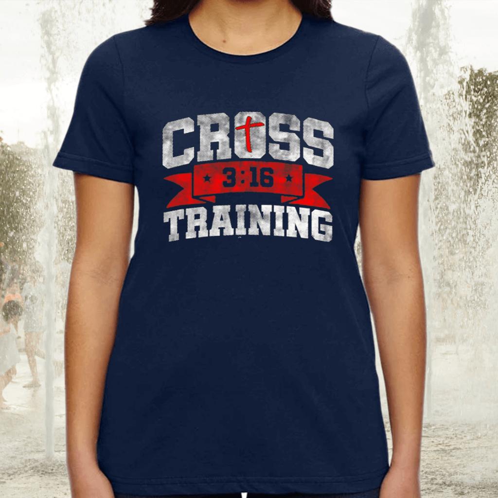 Cross Training John 316 Christian Workout TShirt