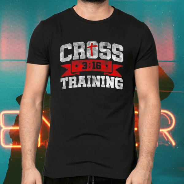 Cross Training John 316 Christian Workout TShirts