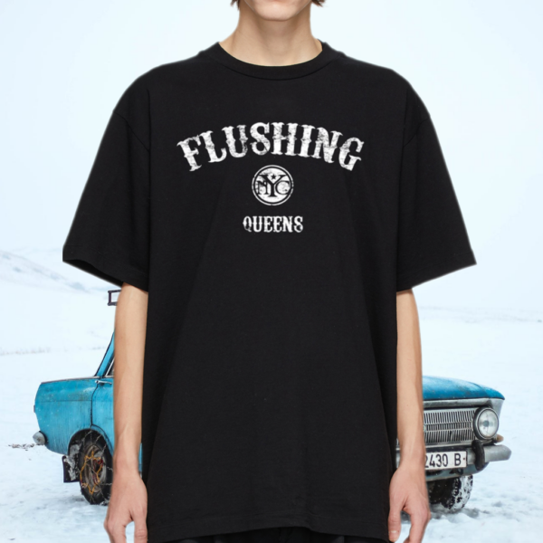 Flushing Queens Retro New York City Shirt