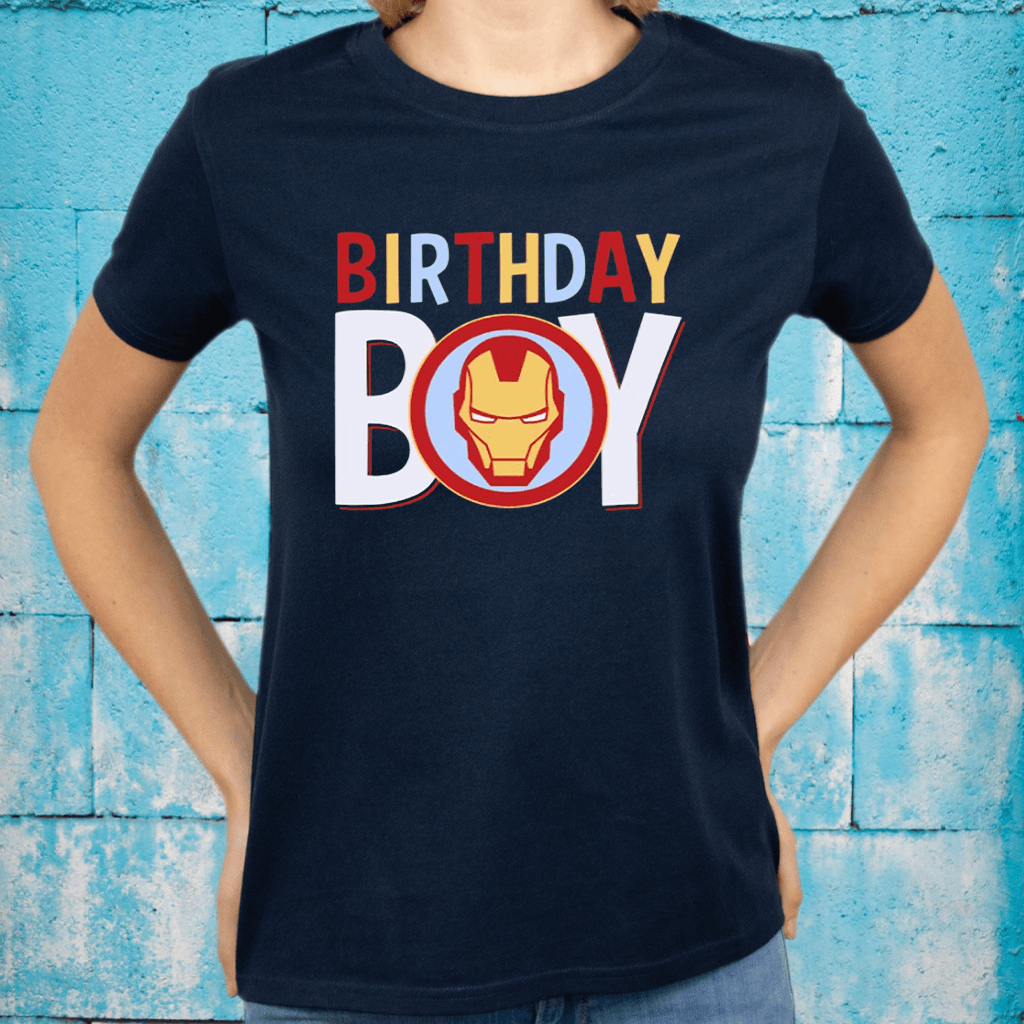 Iron Man Birthday Boy TeeShirt