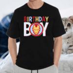 Iron Man Birthday Boy TeeShirts