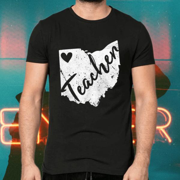Red For Ed Ohio Teacher S Redfored Tee Shirt