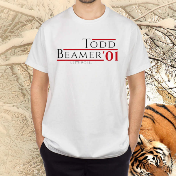 Todd Beamer '01 Let's Roll Anniversary Patriot Day T Shirts