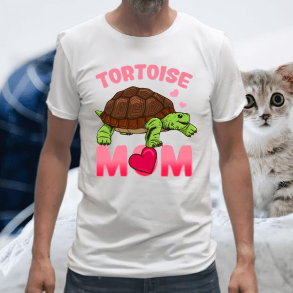 Tortoise Mom Mama Reptile Species TShirt