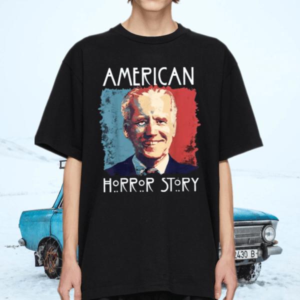 American Biden Horror Halloween Story Anti Biden T-Shirt