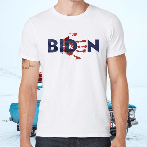 Biden Blood On Hands TShirt