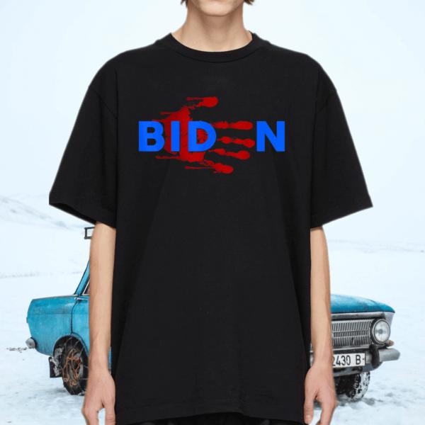 Biden Horror American Zombie Story Halloween Retro Vintage T-Shirt