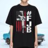 FJB Pro America For Joe Biden FJB Gun USA Distressed Flag Shirt