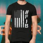 FJB Pro America US Distressed Flag F Biden FJB T-Shirts