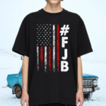 FJB Pro America Vintage Flag F Biden FJB T Shirt