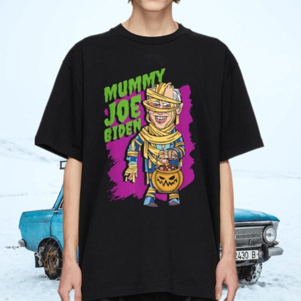 Pantheon Mummy Joe Biden Halloween T-Shirt