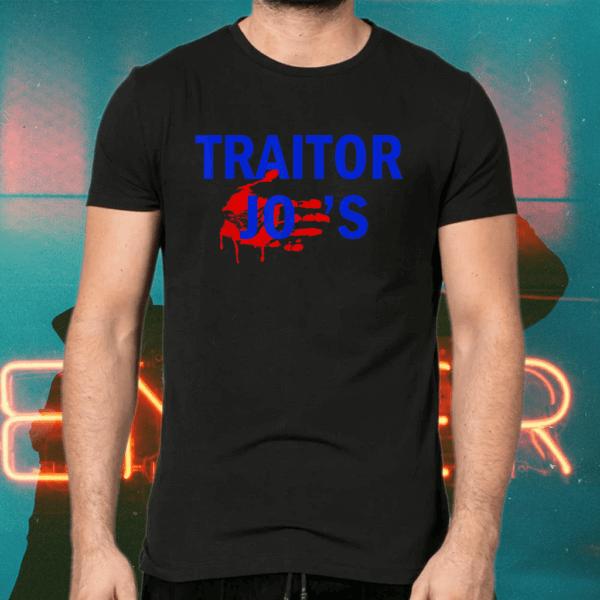 Traitor Joe's MAGA Anti-Biden Political T-Shirts