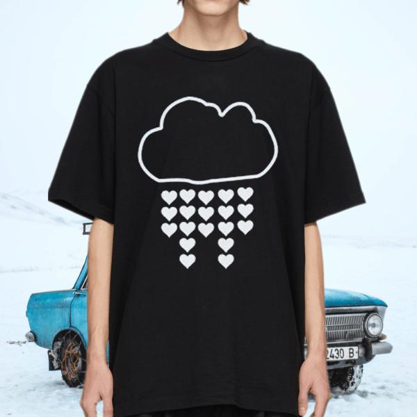 Cloud and hearts tshirt