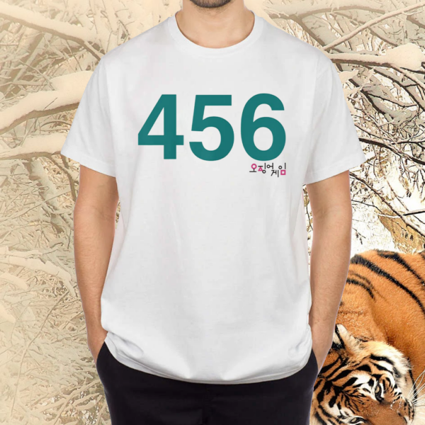 Squid Game Player 456 Costume T-Shirt