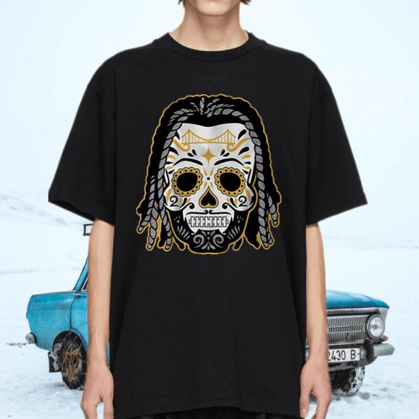 najee harris sugar skull tshirt